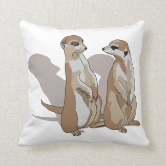 two earth males with shade throw pillow