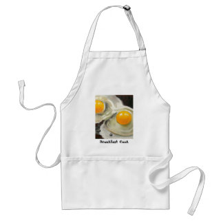 TWO EGGS REALISM ARTWORK STANDARD APRON