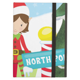 Two Elves at the North Pole iPad Air Case