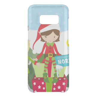 Two Elves at the North Pole Uncommon Samsung Galaxy S8 Case