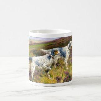 Two English Setters in a Field - Arthur Wardle Coffee Mug