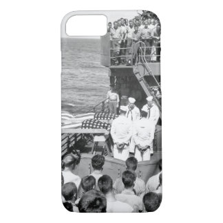 Two enlisted men of the ill-fated U.S._War Image iPhone 7 Case
