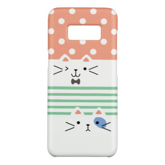 Two Faced Kitty Case-Mate Samsung Galaxy S8 Case