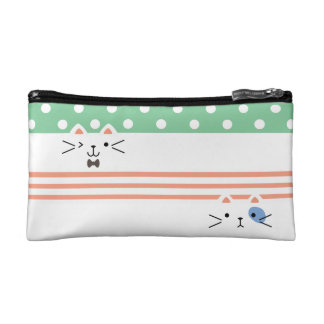 Two Faced Kitty Cosmetic Bag