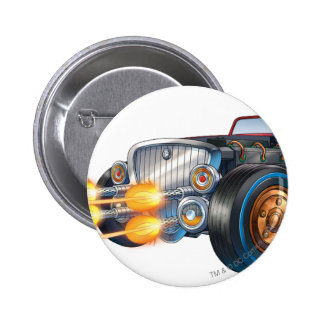 Two Face's Car 2 2 Inch Round Button