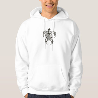 two faces (honu) turtle hoodie