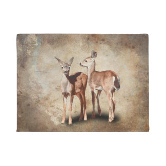 TWO FAWNS DOORMAT
