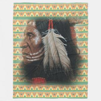 Two Feathers Fleece Blanket