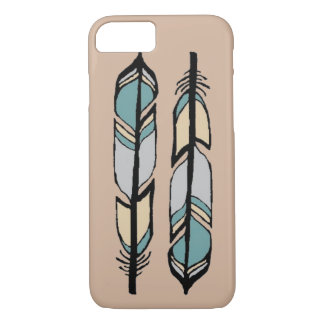 Two Feathers Phone Case