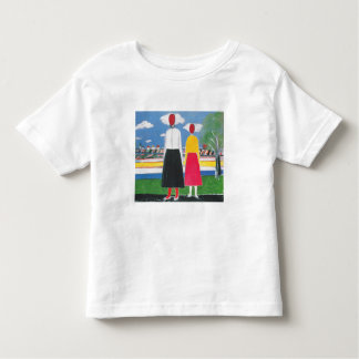 Two Figures in a Landscape by Kazimir Malevich Toddler T-shirt