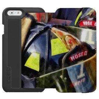 Two Fire Helmets And Fireman's Jacket Incipio Watson™ iPhone 6 Wallet Case