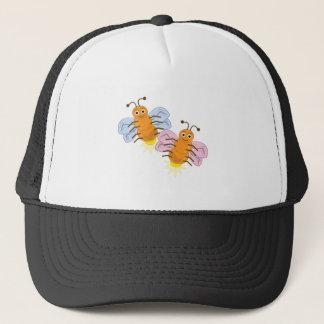Two Fireflies Trucker Hat