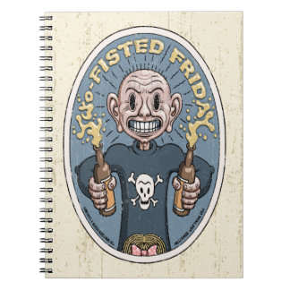Two-Fisted Friday Notebook