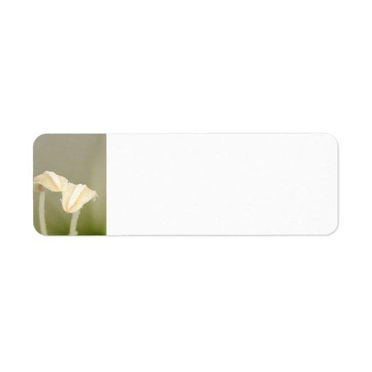 Two Flower Address Label