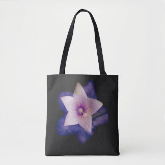 Two flowers in one tote bag