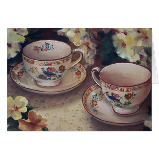 Two for Tea Card