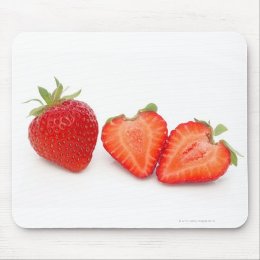 Two fresh, ripe, home grown, organic mouse pads