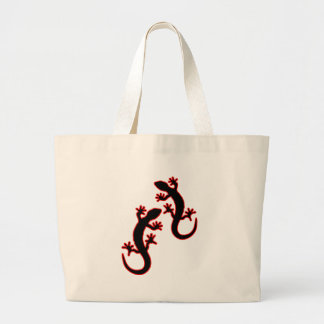 Two Geckos Large Tote Bag