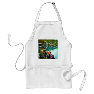 Two Geisha Enjoy a Day at the Park Vintage Japan Standard Apron