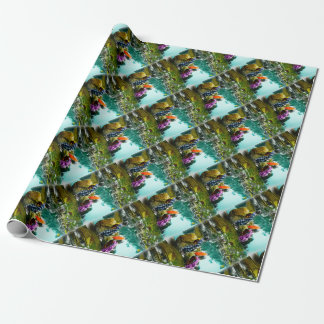 Two Geisha Enjoy a Day at the Park Vintage Japan Wrapping Paper