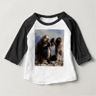 Two gelada baboons (Theropithecus gelada) Baby T-Shirt
