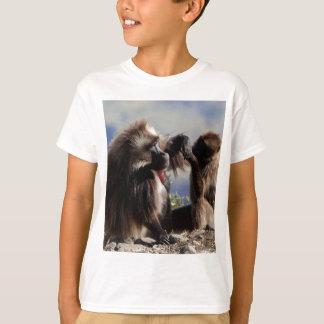 Two gelada baboons (Theropithecus gelada) T-Shirt