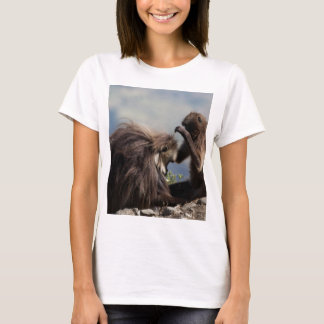 Two gelada baboons (Theropithecus gelada) T-Shirt