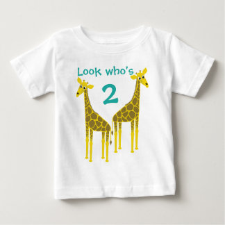 Two giraffes for two years old baby T-Shirt