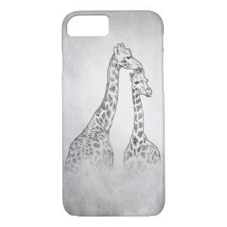 Two Giraffes iPhone 8/7 Case
