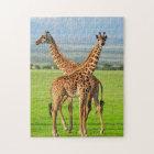 Two Giraffes Jigsaw Puzzle