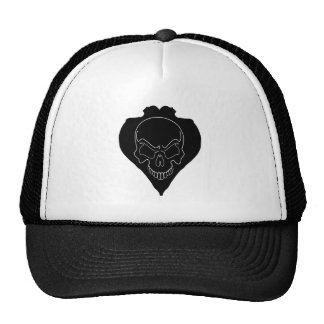 Two Girls And Skull Trucker Hat