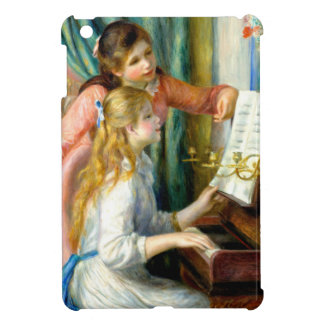 Two Girls at the Piano - Pierre Auguste Renoir Case For The iPad Mini