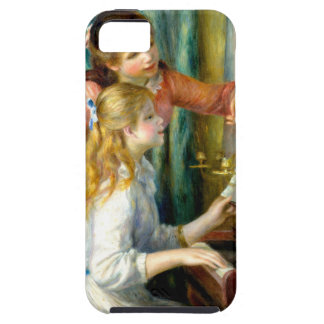 Two Girls at the Piano - Pierre Auguste Renoir iPhone 5 Cover