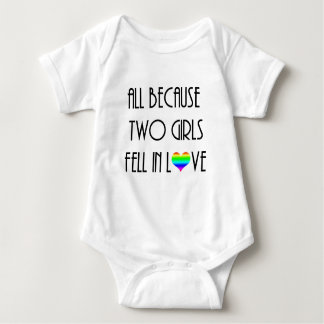Two Girls Fell in Love Tee Shirts
