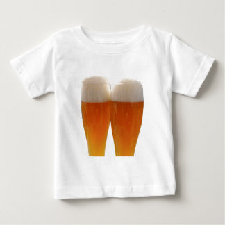 Two glasses of German weisse beer Baby T-Shirt