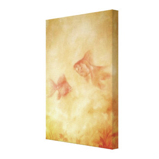 Two Goldfish Canvas Print