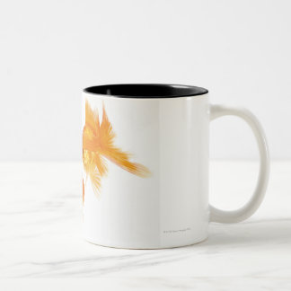 Two Goldfish Crossing Each Other Two-Tone Coffee Mug
