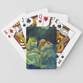 Two Goldfish II Playing Cards