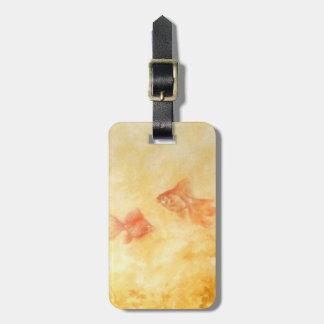 Two Goldfish Luggage Tag