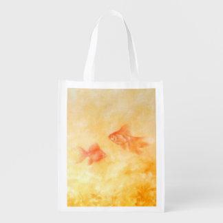 Two Goldfish Reusable Grocery Bag