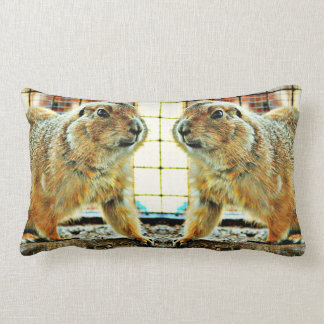 Two Gophers Lumbar Accent Pillow