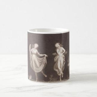 Two Grecian Women Dancing Magic Mug