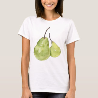 Two Green Pears Ladies T-shirt