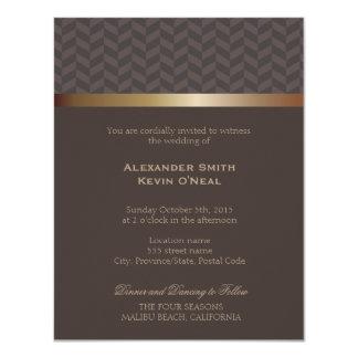 Two Grooms-Gay Wedding ı Invitation