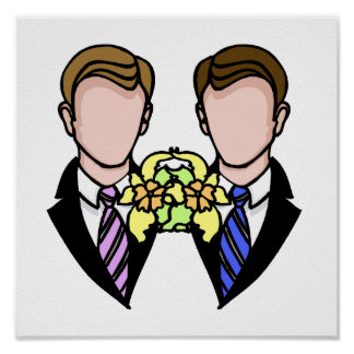Two Grooms Print