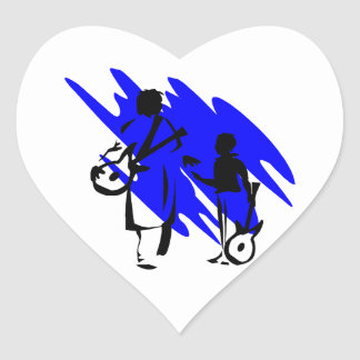 two guitar players outline musician dr blue png stickers