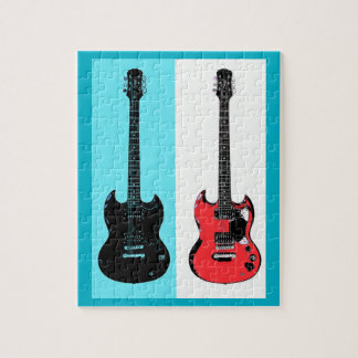 Two Guitars Jigsaw Puzzle