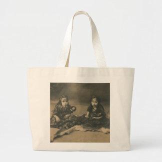 Two gypsy children bag