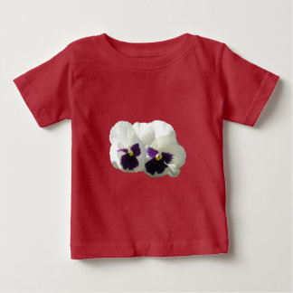 TWO HAPPY PANSIES BABY T-Shirt