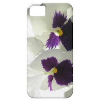 TWO HAPPY PANSIES iPhone 5 COVERS